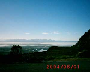 View over the Cape Flats