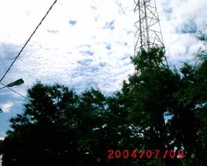 orgonite can fix that: HAARP over Maputo