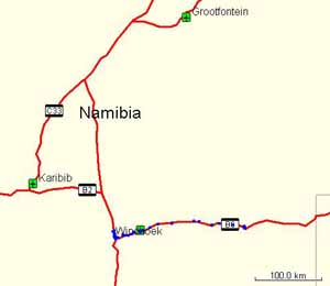 From Gobabis to Windhoek