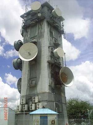 Huge HAARP tower