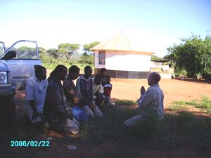 Laozu spontaneous healing session on orgone energy vortex gifting trip to Botswana