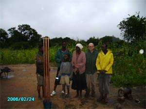 orgone-ite cloud buster at Alexander Ndlovu's grave in Ingalele, Zimbabwe, the foremost rainmaking sanctuary in Southern Africa