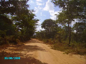 Orgone energy gifting tour to Malawi: dirtroads
