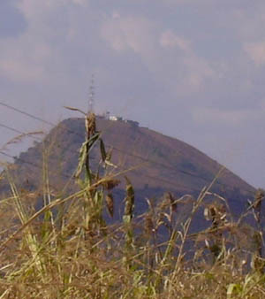 Orgone energy gifting tour Malawi: Hilltop Array near Dondo