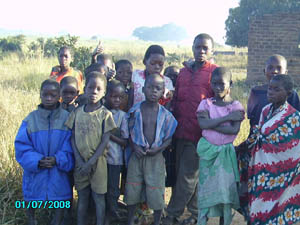 Orgone energy gifting tour to Malawi: Kids in Chipanga