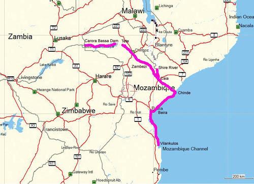 Zambezi Cahora Bassa
