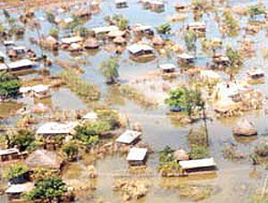flooding in Mozambique