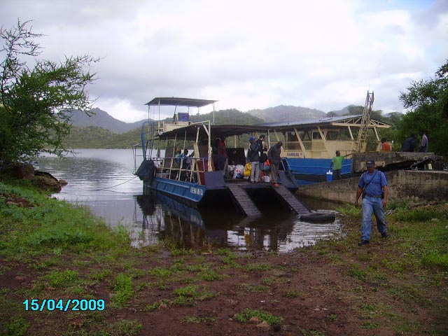 orgone gifting cahora bassa - the kuza ferry