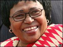 Dr. Manto Thshabalala Msimang in happier days