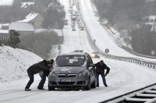 Thats how winter should look like - never mind the traffic chaos...