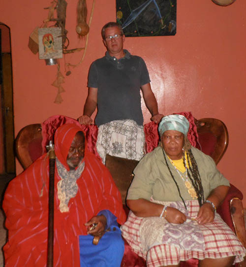 Credo Mutwa and Virginia
