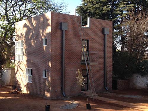 orgonise Africa new office garden side