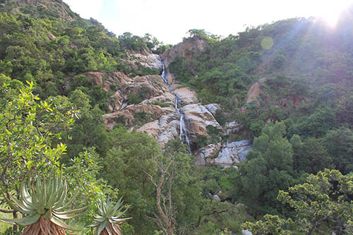waterfall @ umphakatsi