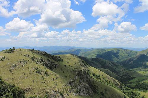 Vista on the way to Umphakatsi