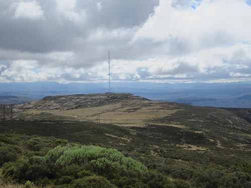 Tower above Graaf Reinet well gifted