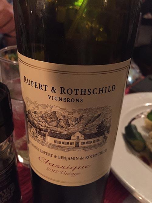 Rupert and Rothschild