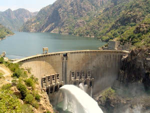 Cahora Bassa Dam Wall to be orgone gifted