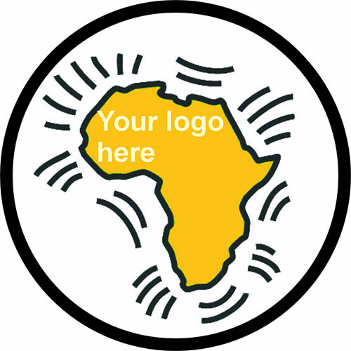 Place your logo or other target picture into the circle