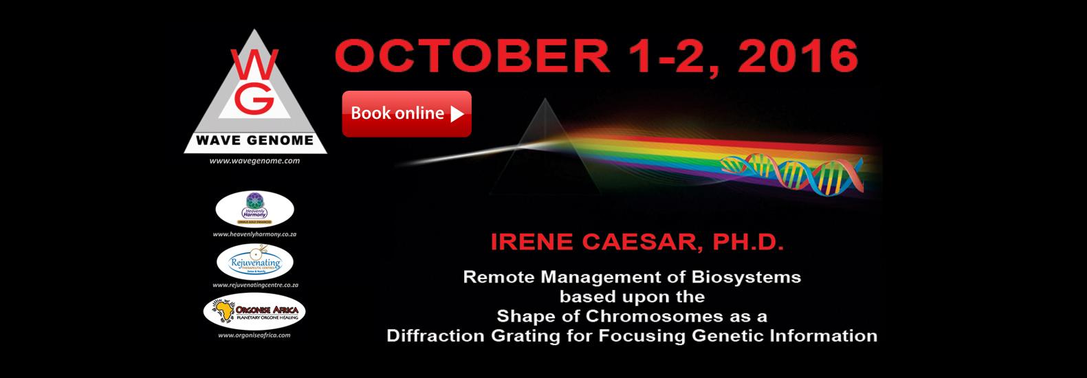 Irene Caesar of Wavegenome