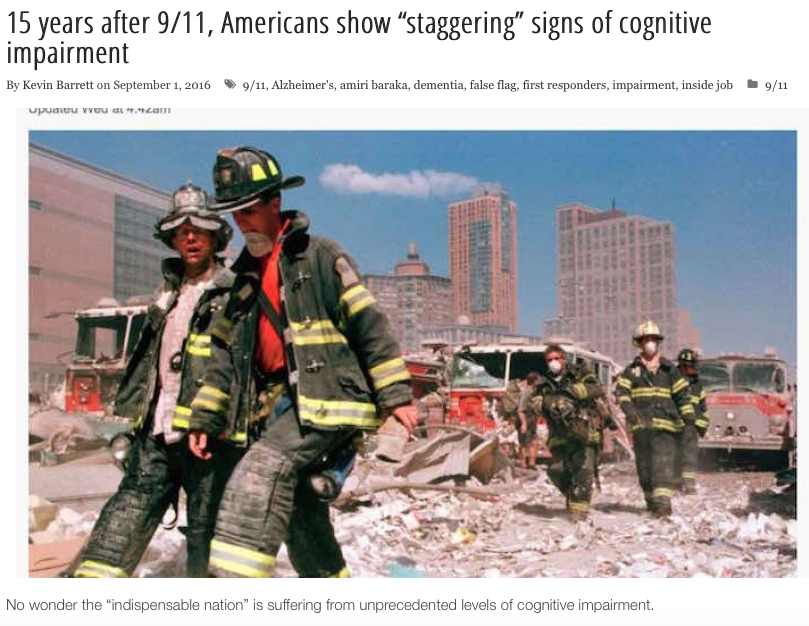 9-11, possibly the worst mind control op after WWII