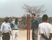 Orgone gifting in Zimbabwe: this is most probably the first Don Croft type Cloud Buster ever to be erected in Zimbabwe