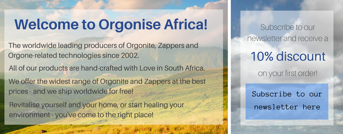 leading website for orgonite, orgone generators, orgone zappers