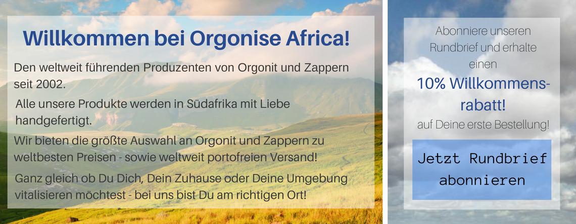 Orgonit und Zapper von Orgonise Africa: Die Besten!
