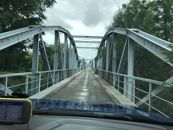 Bridge over the Caledon River gifted with Orgonite