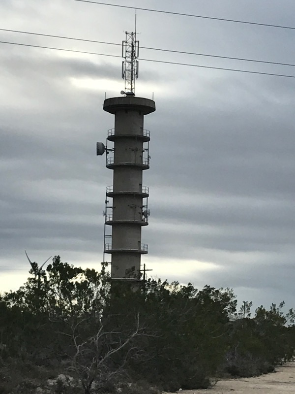 HAARP tower near Addo
