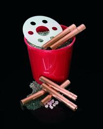 cuarzos, kit de fabricación de rompenubes (CB) y otros