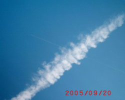 Chemtrails over Germany
