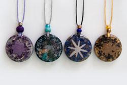 Orgonite pendants