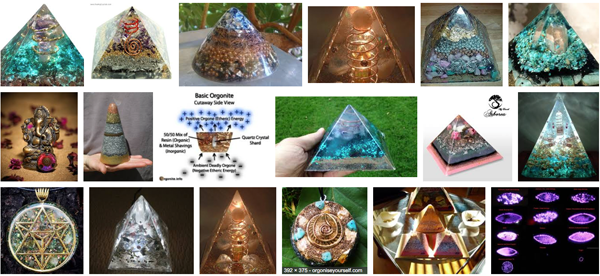 Is this really orgonite? What is the definitgion of orgonite? What role do crystals play in orgonite?